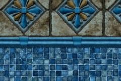 Royale / Blue Mosaic - LIMITED SUPPLY