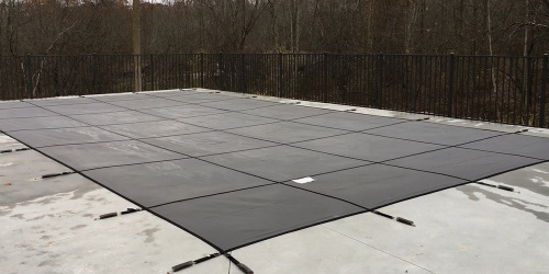 Bloc Mesh 99 Safety Cover in Gray