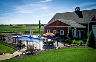 Custom Inground Pools in Grand Rapids at Zagers