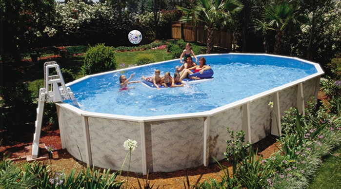 Doughboy Pool from the Premier Dealers at Zagers Solid and Long Lasting Contruction