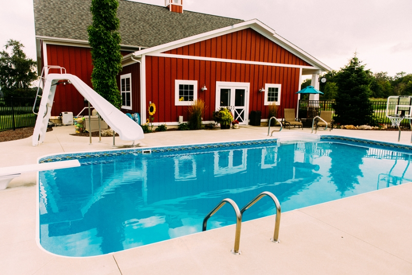 Inground Pool In Grand Rapids Mi By The Experts At Zagers Spa