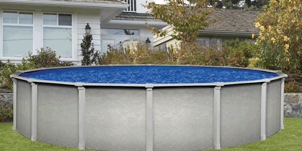 Sharkline above ground pools from zagers in grand rapids mi for Above ground swimming pool dealers