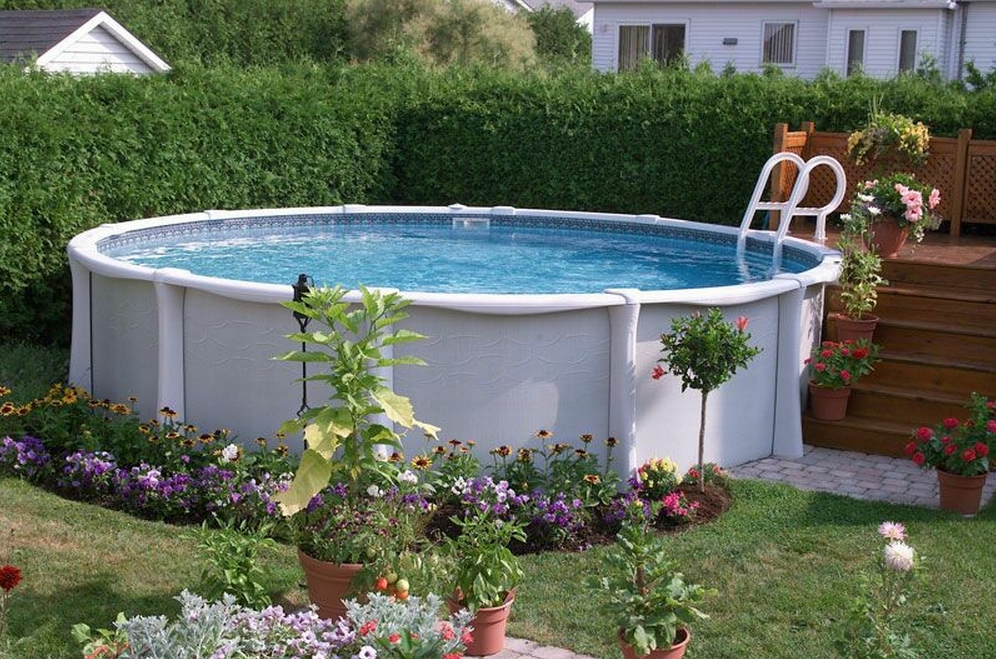Sharkline above ground pools from zagers in grand rapids mi for Above ground pool buying guide