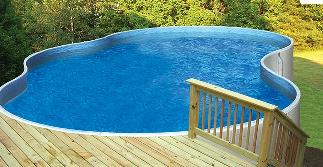 Free Form Pools by Radiant at Zagers of West Michigan