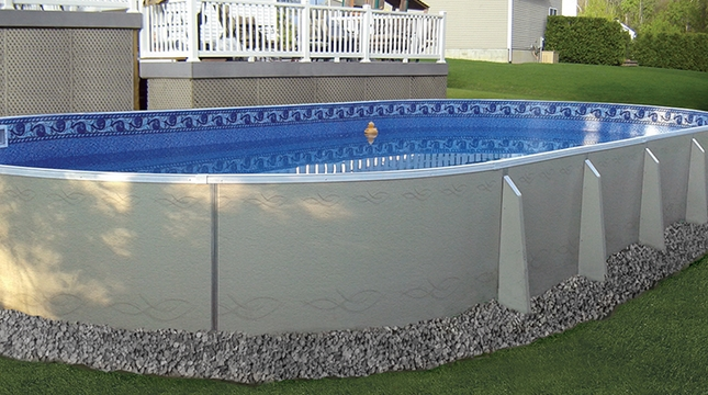 Oval Pools by Radiant at Zagers of West Michigan
