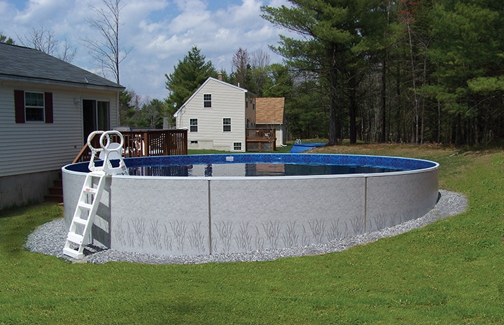 Radiant Pools Semi Inground By Zagers