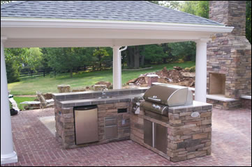 Outdoor Kitchen Islands From Zagers Pool Amp Spa In Grand