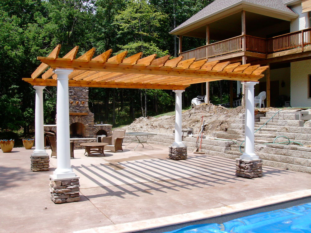 Pergolas From Zagers Pool Amp Spa In Grand Rapids And