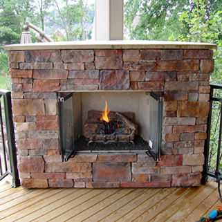 Outdoor Fireplaces From Zagers In Grand Rapids Amp Holland Mi