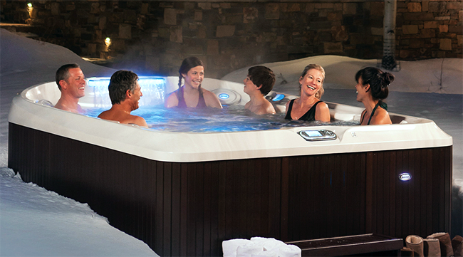 Hot Tub Use In Winter