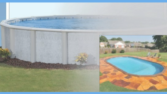 Can You Bury An Above Ground Pool Zagers Pool Amp Spa