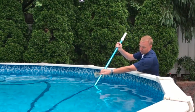 How to Vacuum a Doughboy Above Ground Pool