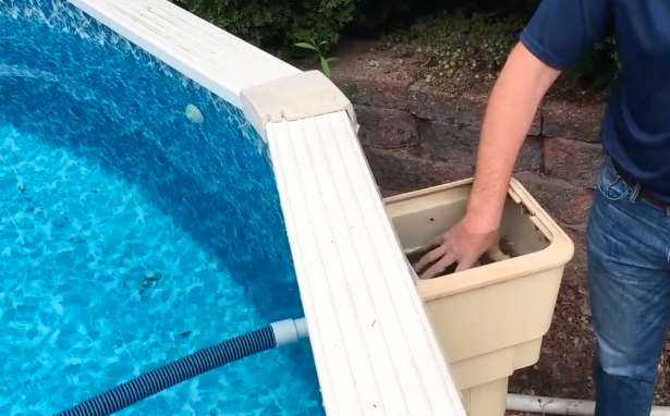 How To Vacuum A Doughboy Above Ground Pool Zagers Pool Amp Spa