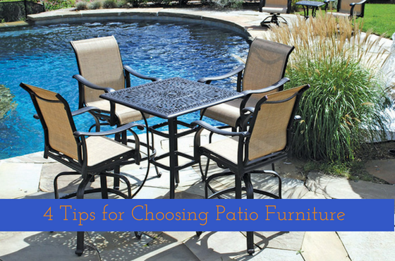 4 Tips For Choosing The Best Outdoor Amp Patio Furniture
