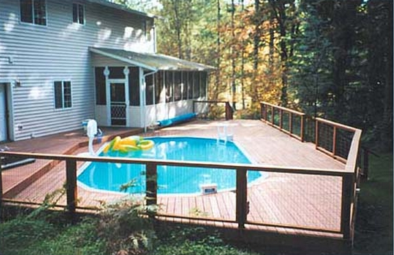 Above Ground Pools From Doughboy And Sharkline Zagers
