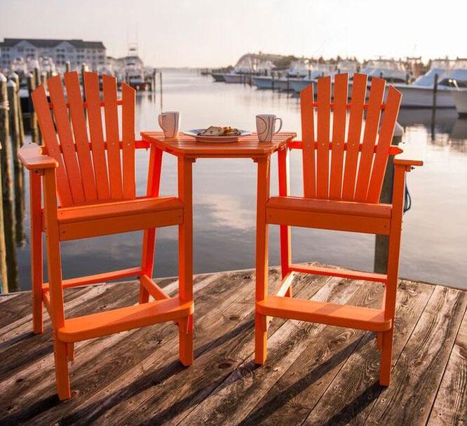 Orange Bar Set