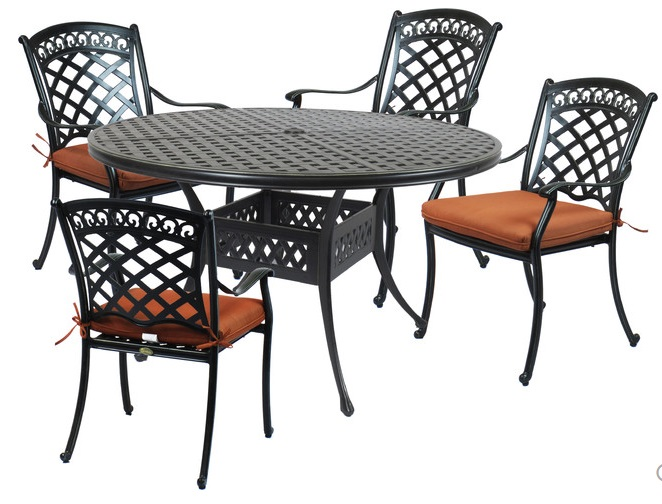 St Tropez 5 Pc Dining Set