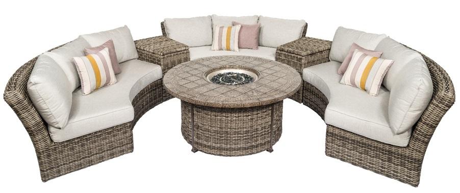 Athena Circular Sofa Set