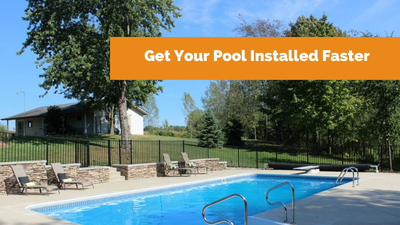 In-ground pool installed by Zagers Pool & Spa.