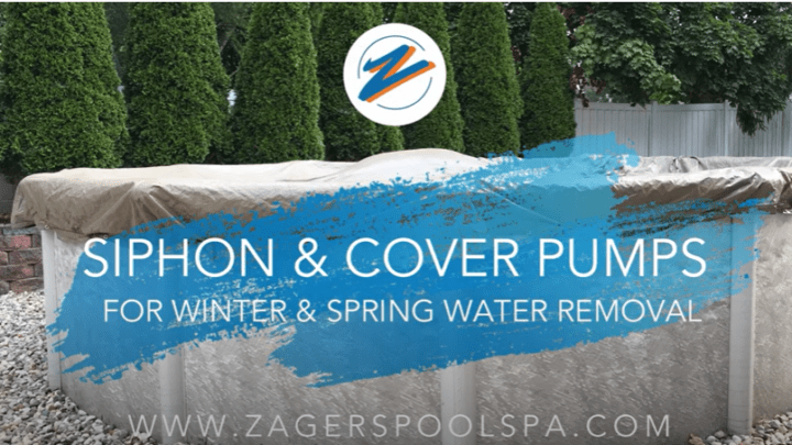 Cover Pump for a Pool