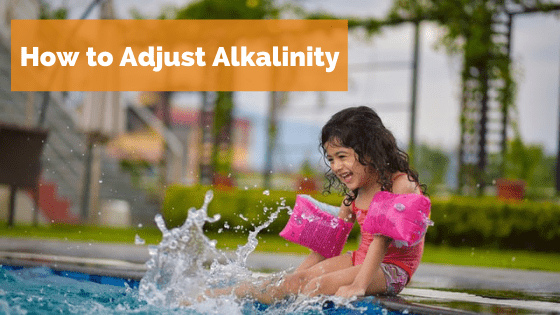 How to adjust alkalinity in a pool